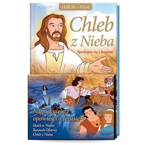 Śnieżkowska-bielak elżbieta Chleb z nieba. spotkajmy się z jezusem + film dvd (9788375698671)