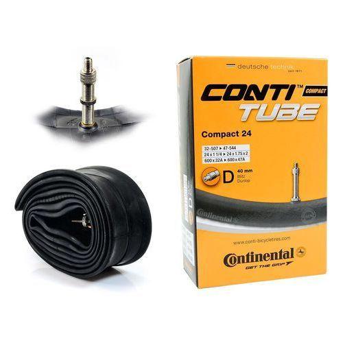 Co0181311 dętka compact 24'' x 1,25'' - 1,75'' wentyl dunlop 40 mm marki Continental