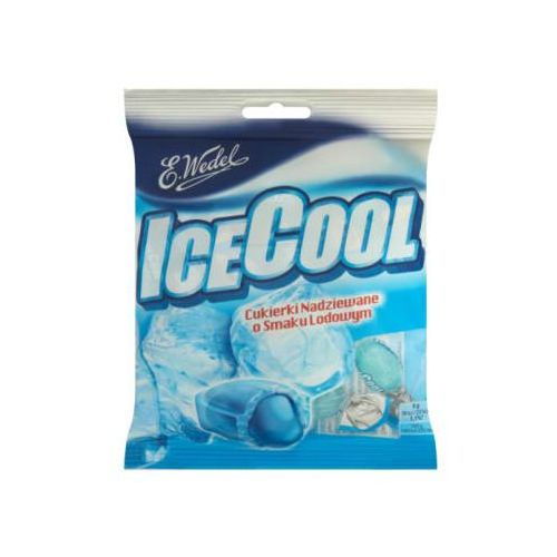 E. wedel 90g ice cool cukierki nadziewane o smaku lodowym