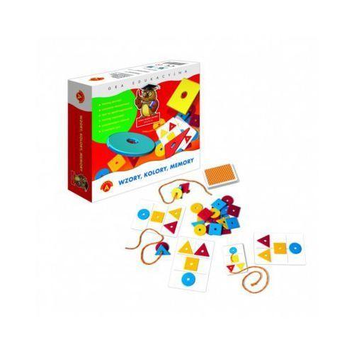 Praca zbiorowa Gra memory wzory, kolory - darmowa dostawa od 199 zł!!! (5906018004571)