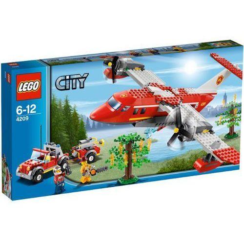 Lego City SAMOLOT STRAŻACKI 4209 z kategorii: klocki dla dzieci