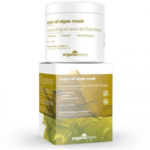 maska algowa z olejem arganowym 500ml marki Organic series