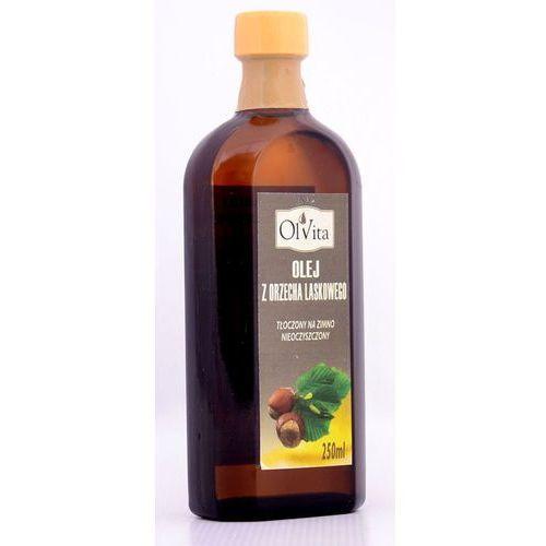 Olej z orzecha laskowego 250ml tłoczony na zimno - marki Ol'vita
