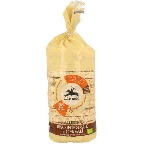 Alce Nero: wafle ryżowe pełnoziarniste 4 ziarna BIO - 100 g, 593