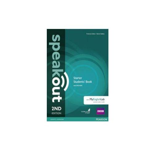 Speakout 2Ed Starter. Podręcznik + DVD-ROM + MyEnglishLAb, Pearson