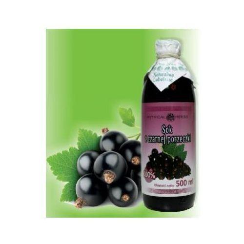 Sok z czarnej porzeczki 100% naturalny - 500 ml marki Herbasalin sp. z o. o.
