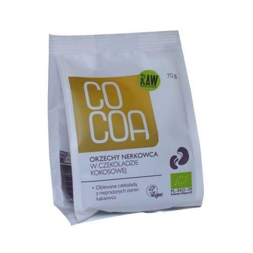 COCOA 70g Orzechy nerkowca w czekoladzie kokosowej Bio