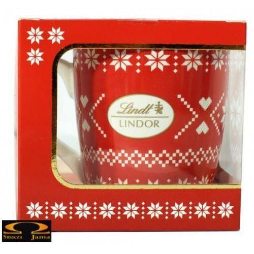 Zestaw lindor milk nostalgic cup czerwony 125g marki Lindt