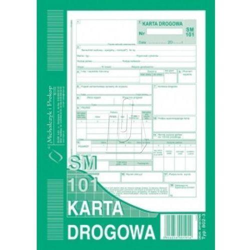 Karta drogowa a5 sm-101 numerowana 802-3n marki Michalczyk i prokop