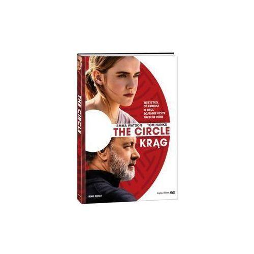 Add media The circle (krąg) (dvd z książeczką) - james ponsoldt. darmowa dostawa do kiosku ruchu od 24,99zł (9788380533103)
