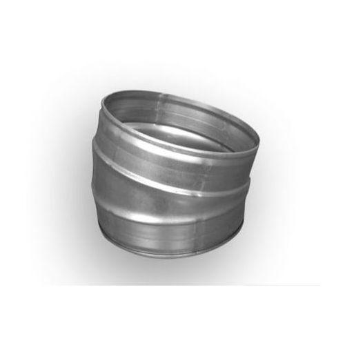 Kolano wentylacyjne tłoczone 15 st, 200 mm, B1 200