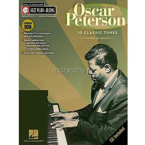 peterson oscar - jazz play along (utwory w transkrypcji na instrumenty w stroju bb, eb i c +cd) marki Pwm