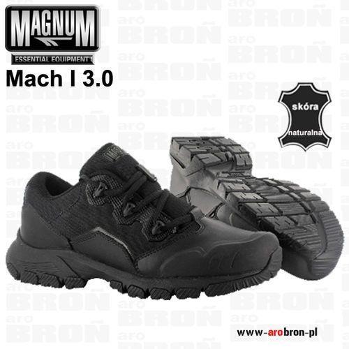 Buty niskie taktyczne  mach i 3.0 astm - połówki, czarne, dla służb mundurowych, patroli marki Magnum