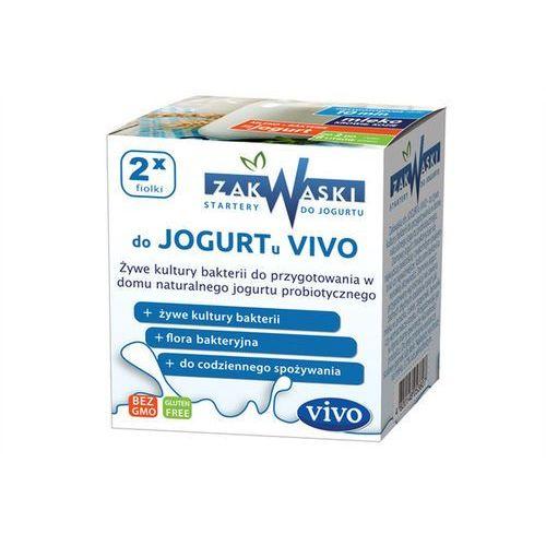 Jogurt domowy vivo żywe kultury bakterii opakowanie 2 x 0,5g zakwaski vivo marki Zakwaski vivo (żywe kultury bakterii)