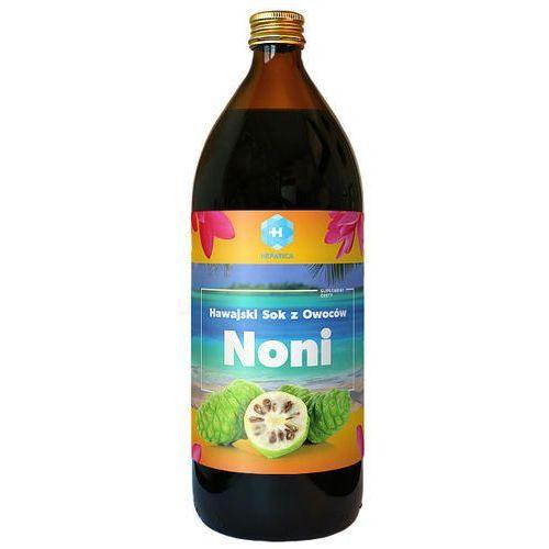 Hawajski sok z owoców noni ekologiczny Organic Noni juice 100% 946ml Healing Noni Hepatica