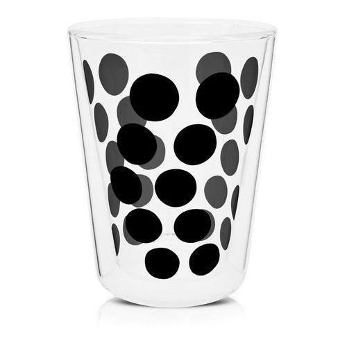 Zak! - Szklanka 350 ml z podw. ściankami, czarna 0439-1221