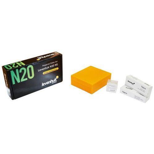 Levenhuk Zestaw gotowych preparatów n20 ng (0611901511078)