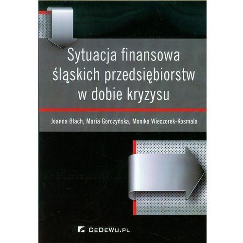 Sytuacja finansowa śląskich przedsiębiorstw w dobie kryzysu, CeDeWu