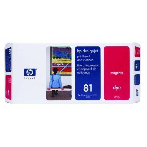 oryginalna głowica drukująca c4952a, no.81, magenta, hp designjet 5000, ps, uv, 5500, ps, uv marki Hp