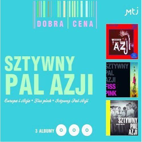 SZTYWNY PAL AZJI - EUROPA I AZJA/FISS PINK/KOLORY MUZYKI [3CD] (5906409903285)