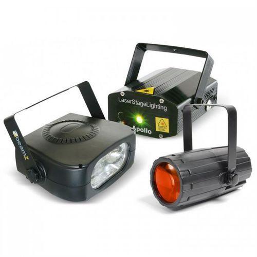 Beamz Light Package 4 zestaw efektów oświetleniowych disco (8715693271256)