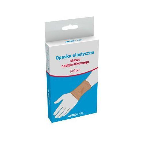 Apteo care opaska elastyczna stawu nadgarstkowego krótka rozm.l x 1 sztuka marki Synoptis pharma