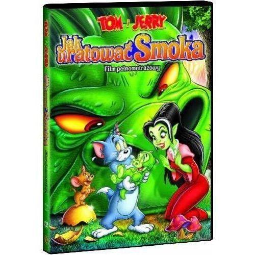 Tom i jerry: jak uratować smoka [dvd] marki Spike brandt, tony cervone