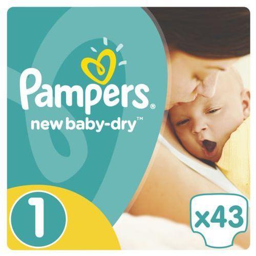 PAMPERS New Baby-Dry pieluchy 1 Newborn 43szt pieluszki (4015400264491)