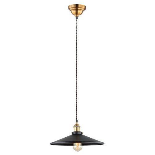 Lampa wisząca VERDA MDM-3458/1L BK+GD - Italux - Rabat w koszyku, MDM-3458/1L BKGD