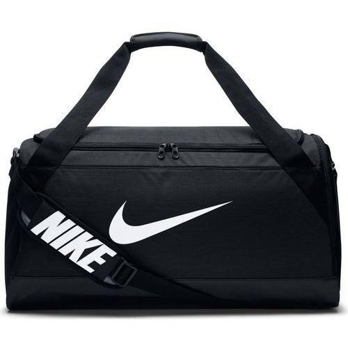 Torba brasilia duffel medium - ba5334-010 - black/black/white marki Nike
