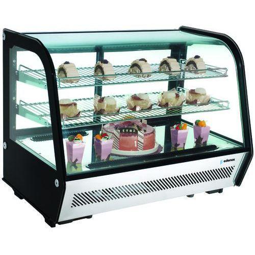 Witryna ekspozycyjna chłodnicza 100 l, 700x452x654 mm | EDENOX, VERS-100