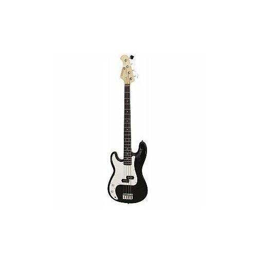 Dimavery PB-320 E-Bass LH, black gitara basowa leworęczna, 26221015
