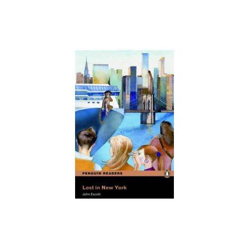 Lost in New York + MP3. Penguin Readers, oprawa miękka