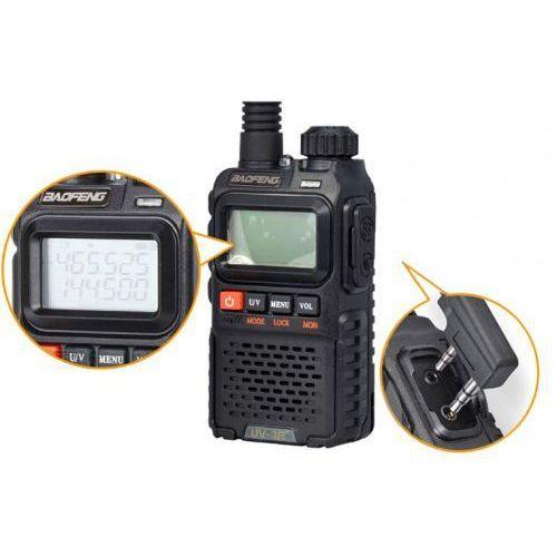 Radiotelefon BAOFENG UV-3R PLUS, 0884-91596
