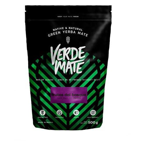 Yerba Verde Mate Green Frutos del Bosque 0,5kg (5902701423667)
