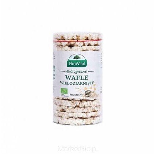 Ekowital Wafle wieloziarniste bez soli bezglutenowe bio 100 g (5908249973954)