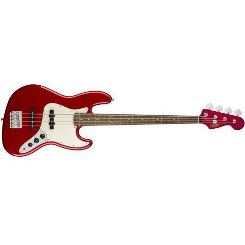 squier contemporary jazz bass lrl metallic red gitara basowa marki Fender