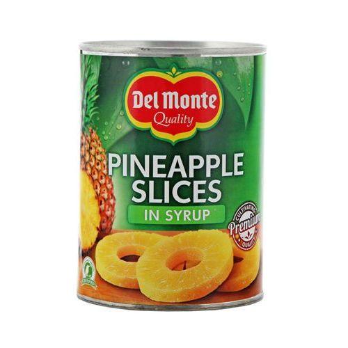 Del monte 570g ananasy plastry w syropie marki Develey
