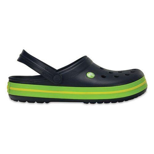 Crocs Buty crocband 11016 navy/volt green - granatowy