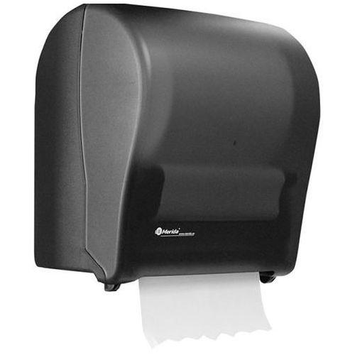 Merida Pojemnik na ręczniki papierowe w roli automatyczny maxi plastik czarny (5908248119186)