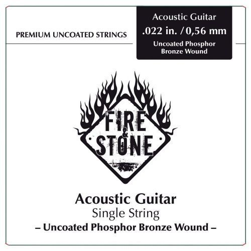 Fire&stone (667120) struna pojedyncza phosphor bronze -.020in./0,51mm