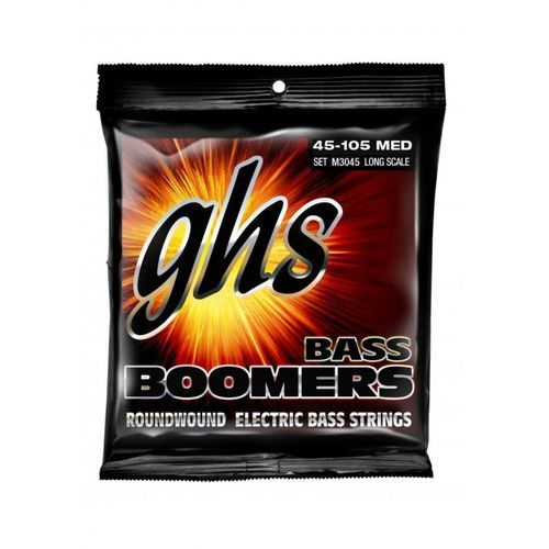 GHS Bass Boomers struny do gitary basowej 4-str. Medium,.045-.100, Medium Scale