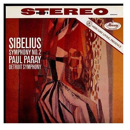 Universal music Mercury liveing presence: sibelius symph. 2 - paray paul (płyta winylowa)