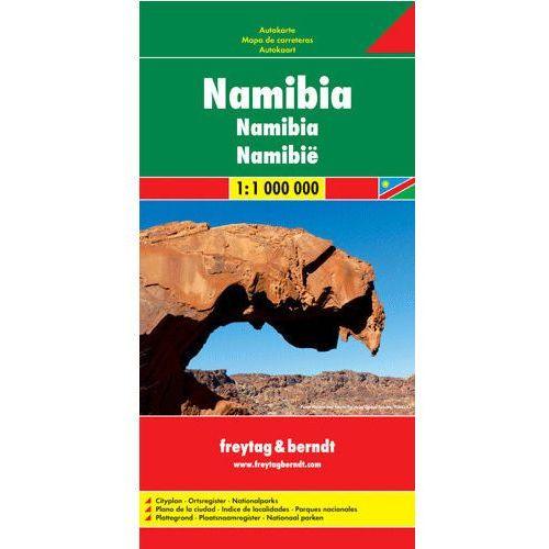 Namibia. Mapa 1:1 200 000 (2011)