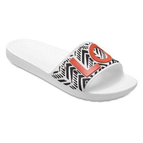Buty drew barrymore sloane trib 205260 white marki Crocs