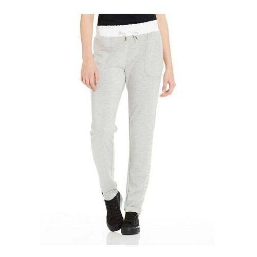 spodnie dresowe BENCH - Corp Print Sweat Pant Winter Grey Marl (MA1054)