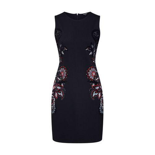 Desigual sukienka damska Vest Denis XS czarna (8434486869042)