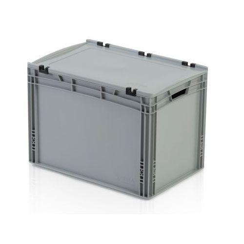 Plastikowa skrzynka z wiekiem 600x400x435 mm