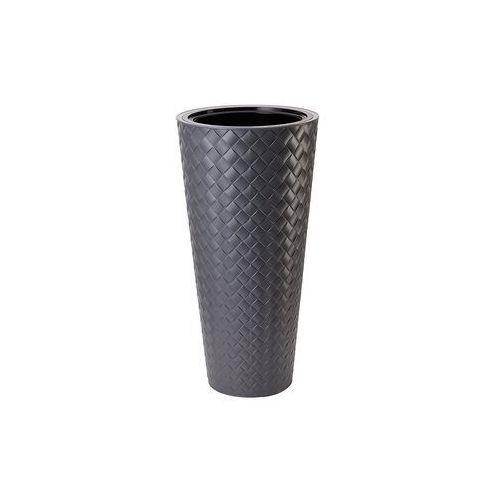 Form-plastic Doniczka plastikowa 40 cm szara slim (5907474347288)