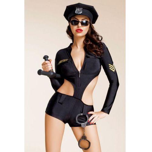 Kostium Jamais vu Zoe w kolorze czarnym - produkt z kategorii- garsonki i kostiumy